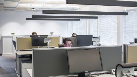 Kontorsbelysning Microsoft