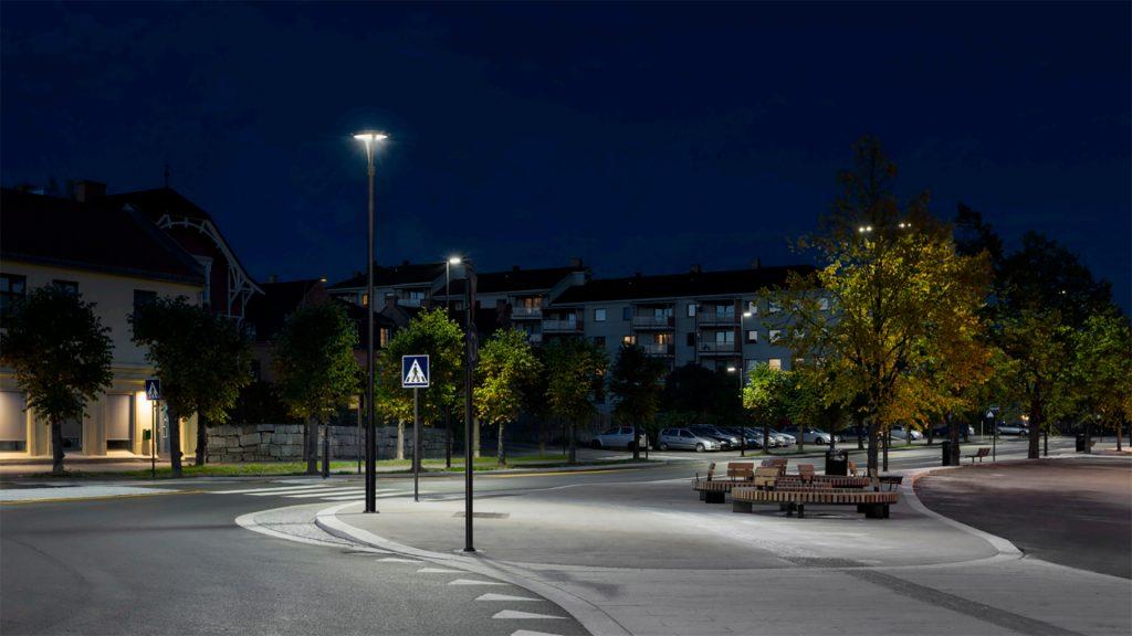 Gatuarmaturer för parker