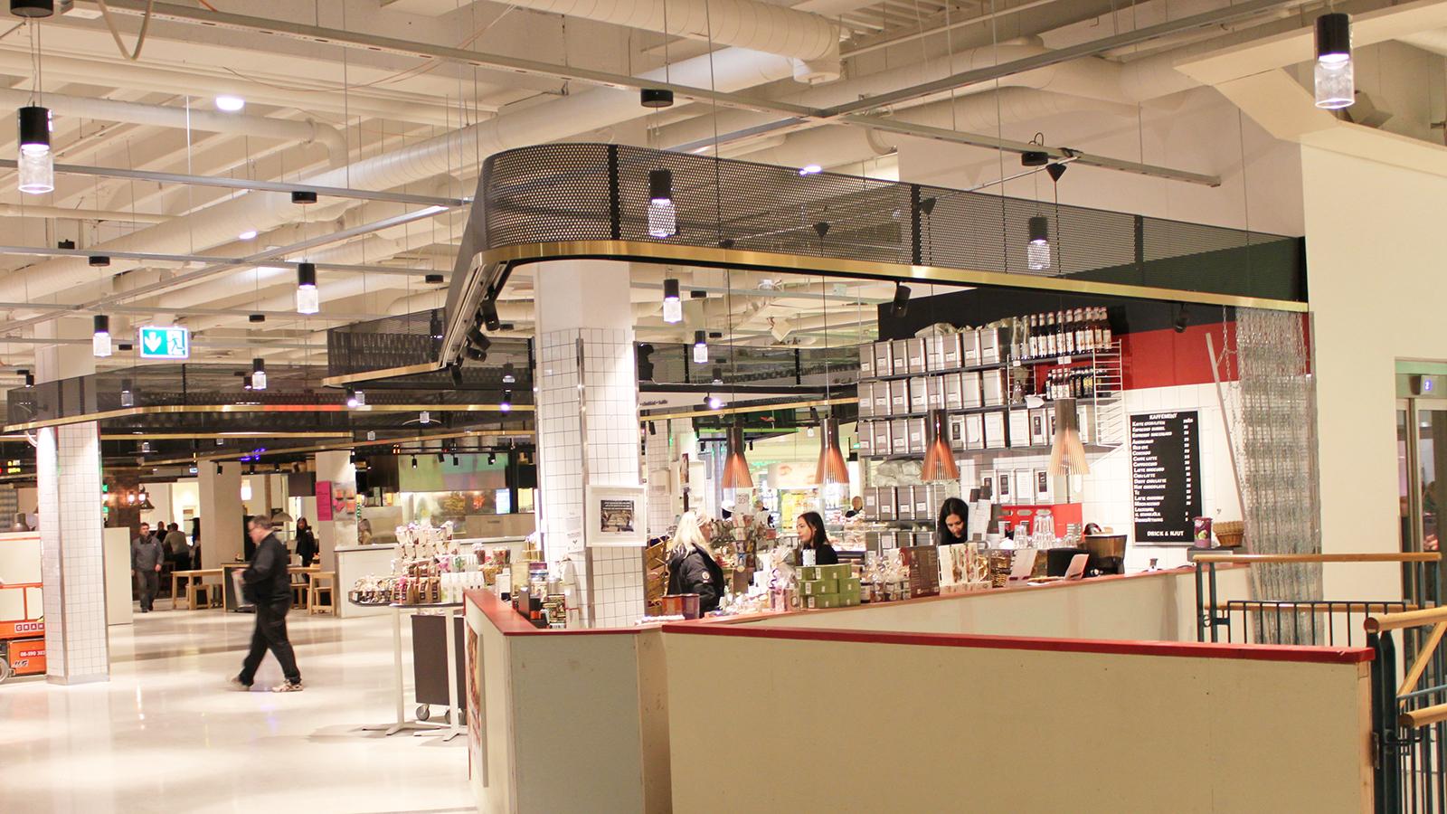 Farsta centrum nu med gastronomiskt inomhustorg annell ljus form - Lumen centrum ...