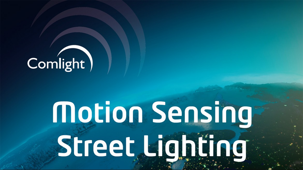 Comlight Motion Sensing Street Lighting