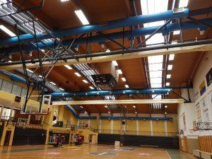 Hyperion miljöbild sporthall