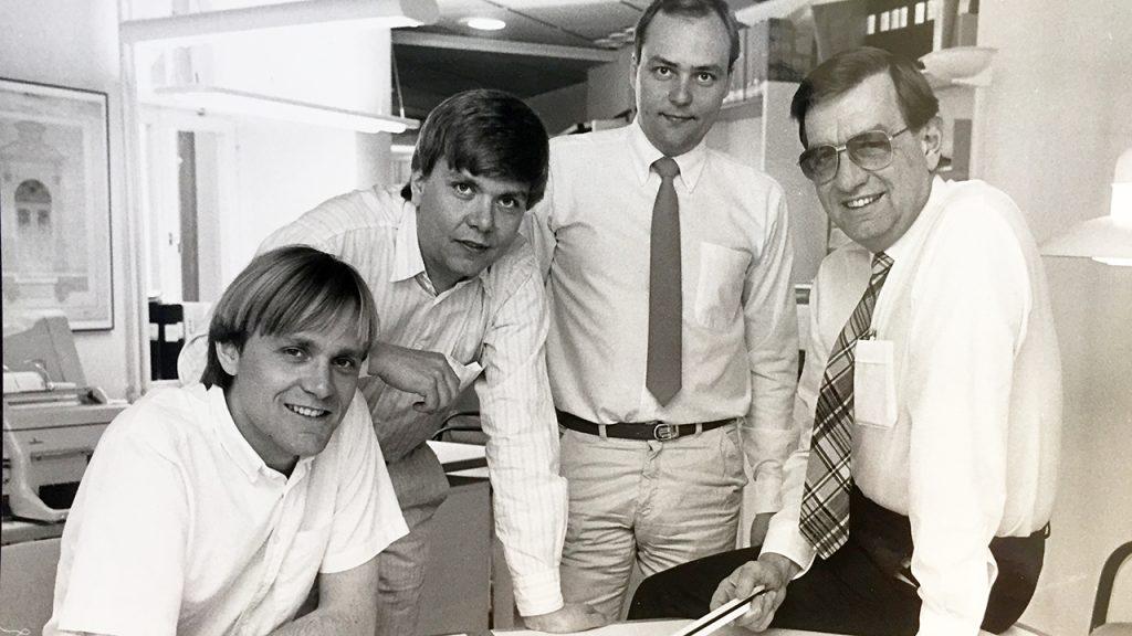 Johny med Staffan, Bosse och Tomas