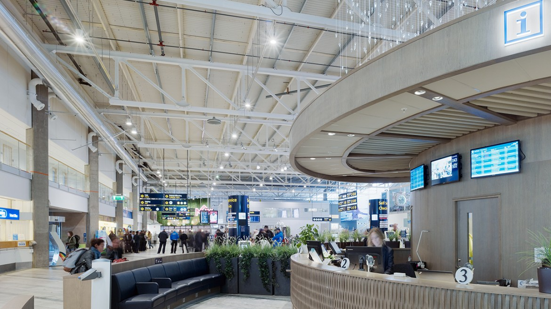Lanvetter flygplats Infodisk