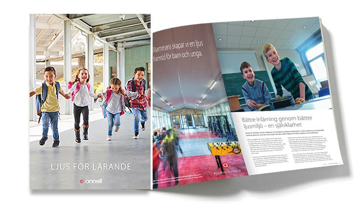 Ljus för lärande broschyr