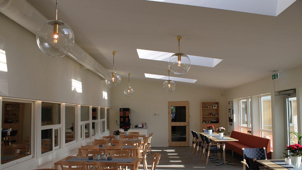 Rimbo församlingshem - matsal