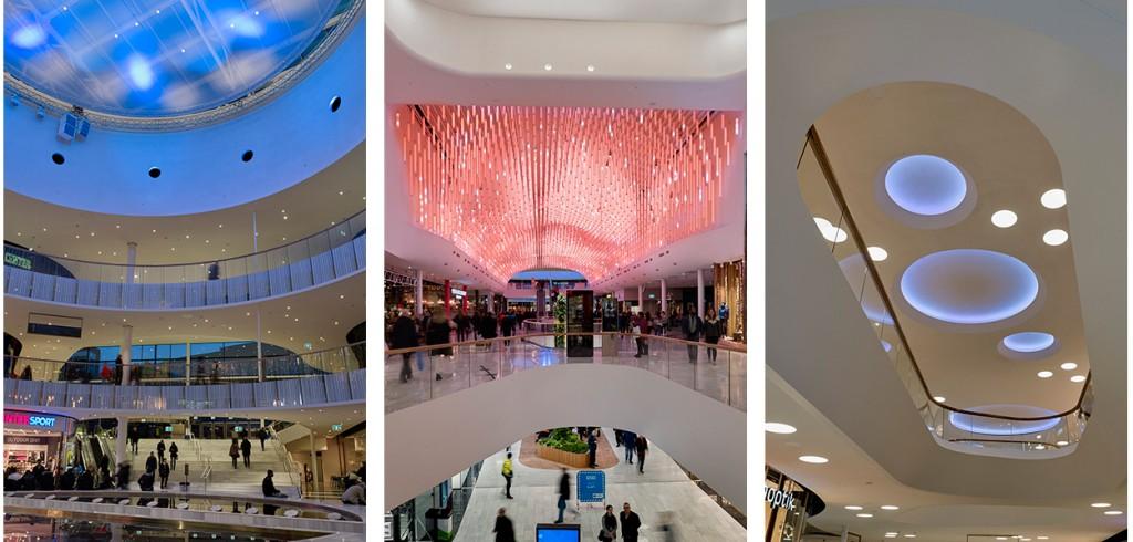 Mall of Scandinavia - ÅF Lighting stod för ljusdesign