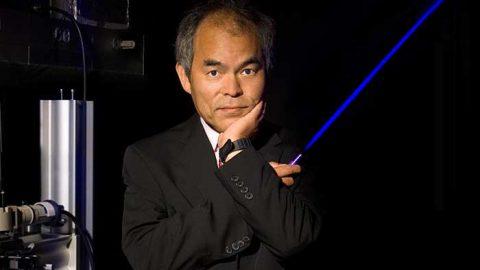 Professor Shuji Nakamura. Källa: universityofcalifornia.edu Foto: Randall Lamb